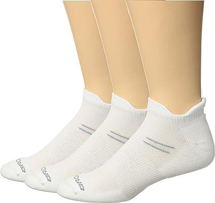 Brooks Run-In Three Pack Running Socks Asphalt//Berry//White Size Small