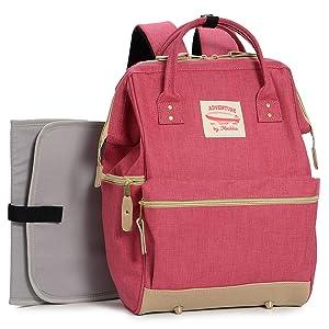 Wide Open Designer Baby Diaper Backpack by Moskka