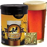 Mr. Beer Bewitched Amber Ale 2 Gallon Homebrewing Craft Beer Making Refill Kit with Sanitizer, Yeast and All Grain Brewing Extract Comprised of the Highest Quality Barley and Hops