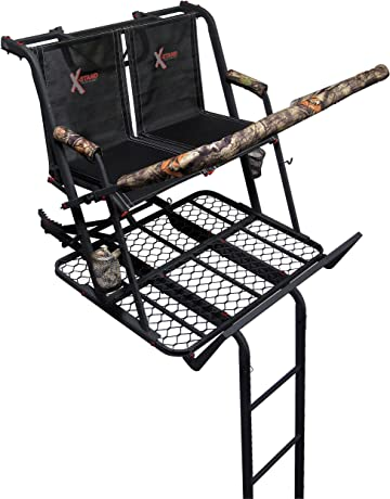 dd6d24e432e X-Stand Treestands The Jayhawk Ladderstand The Jayhawk 20  Two-Person  Ladderstand Hunting