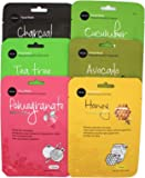 Celavi Essence Facial Mask Paper Sheet Korea Skin Care Moisturizing 12 Pack