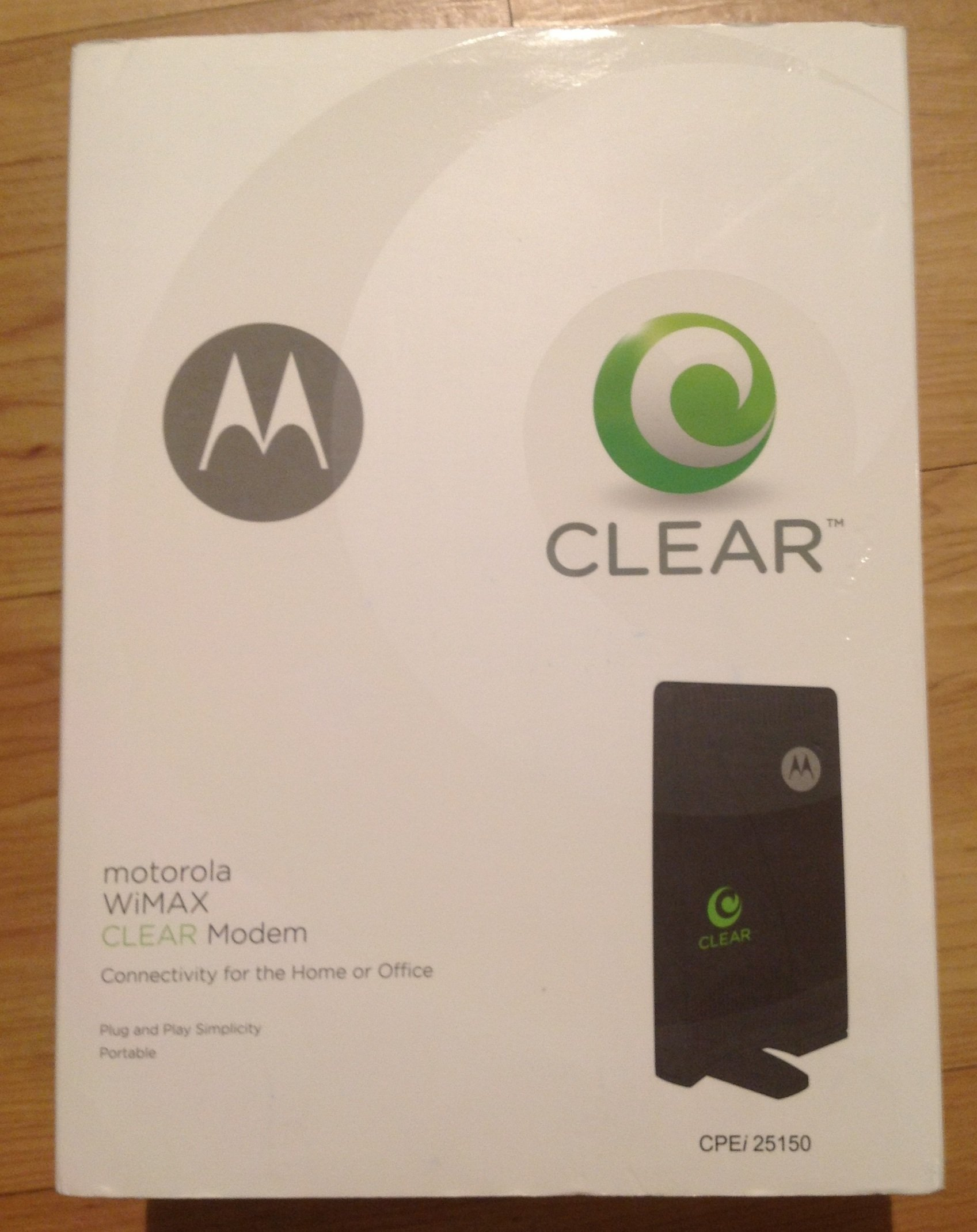 Motorola CPEi 25150 Clear 4G Wireless Modem Dual Integrated Antenna