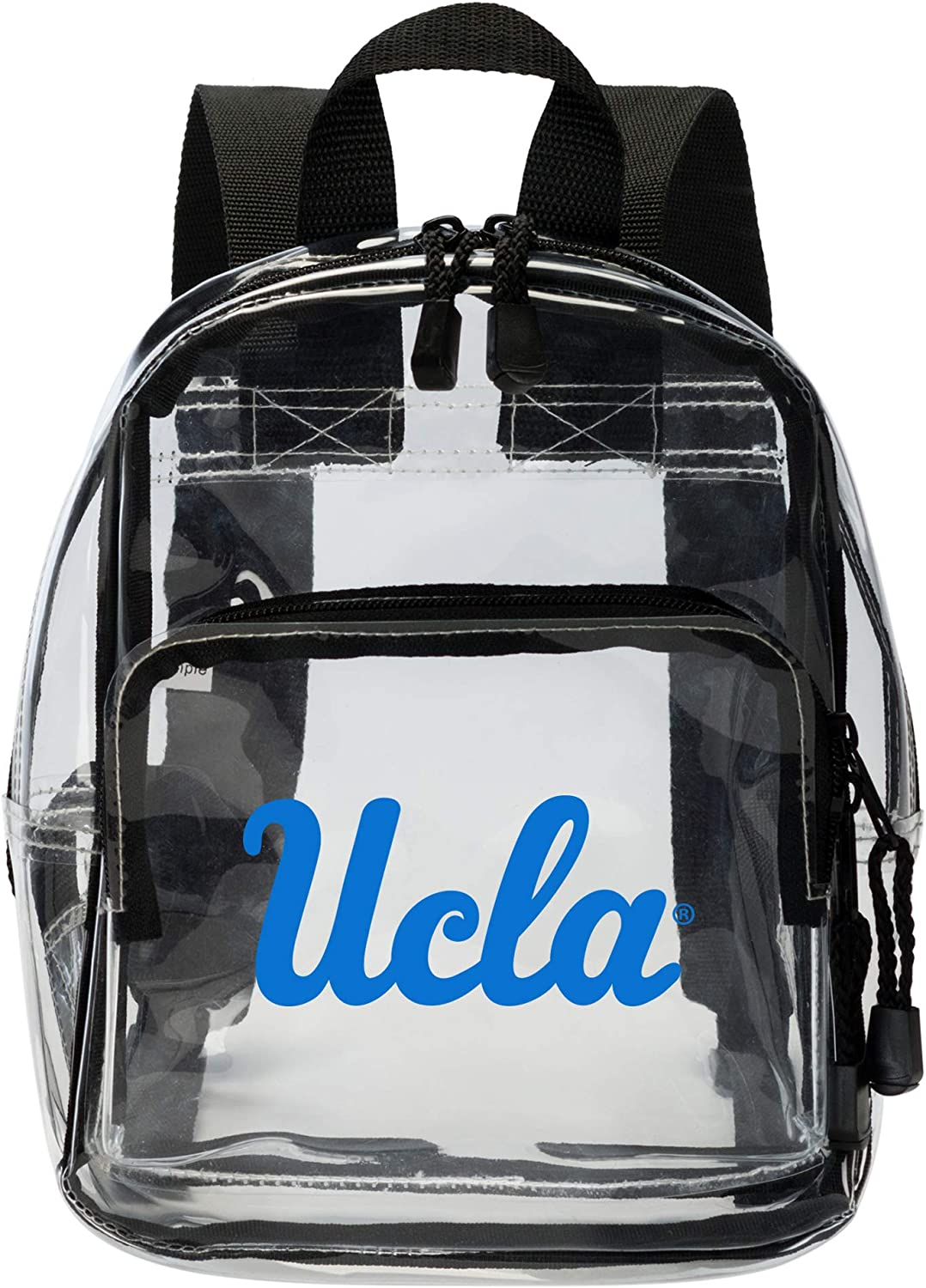 9 Northwest Officially Licensed NCAA UCLA Bruins X-Ray Stadium Friendly Clear Mini-Backpack Clear