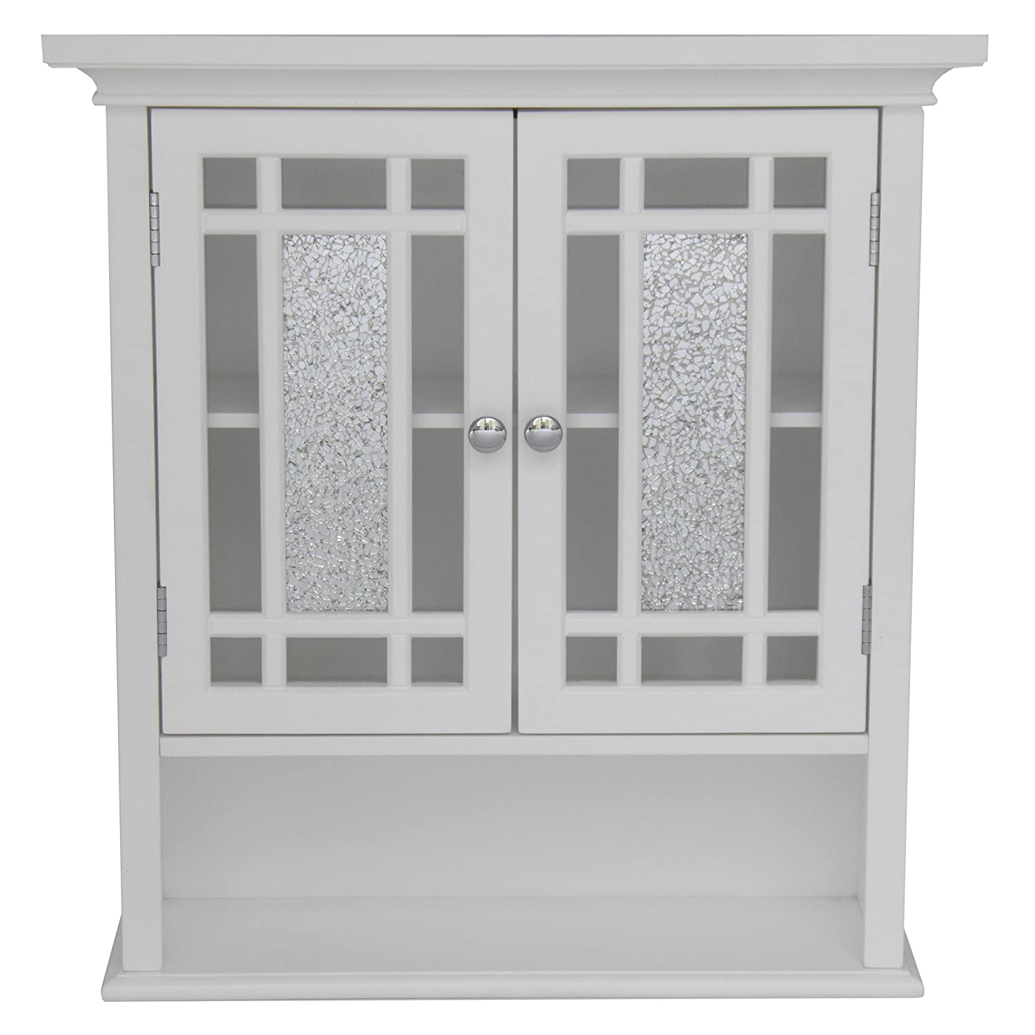 Merveilleux Amazon.com: Elegant Home Fashions ELG 527 Whitney Wall Cabinet With 2 Doors  And 1 Shelf: Kitchen U0026 Dining