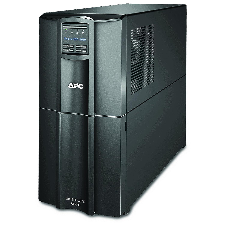 APC Smart-UPS 3000VA UPS Battery Backup with Pure Sine Wave Output (SMT3000) Power Equipment