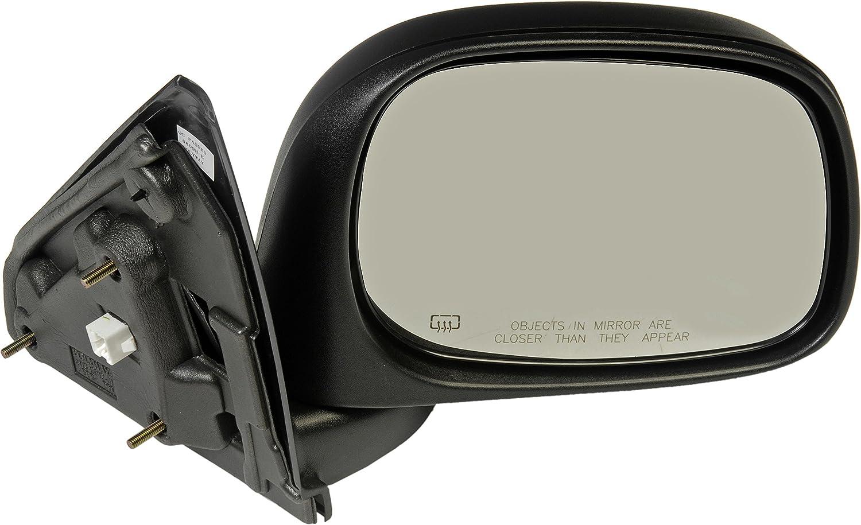 Dorman 955-1376 Passenger Side Power Door Mirror - Heated/Folding for Select Dodge Models, Black