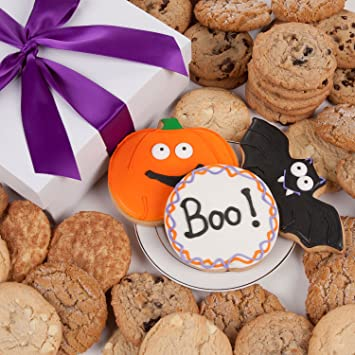 halloween signature cookie gift box 12 pc