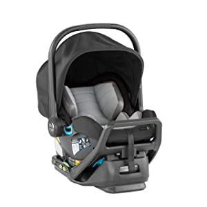 Baby Jogger City GO 2 Infant Car Seat, Slate, Gray