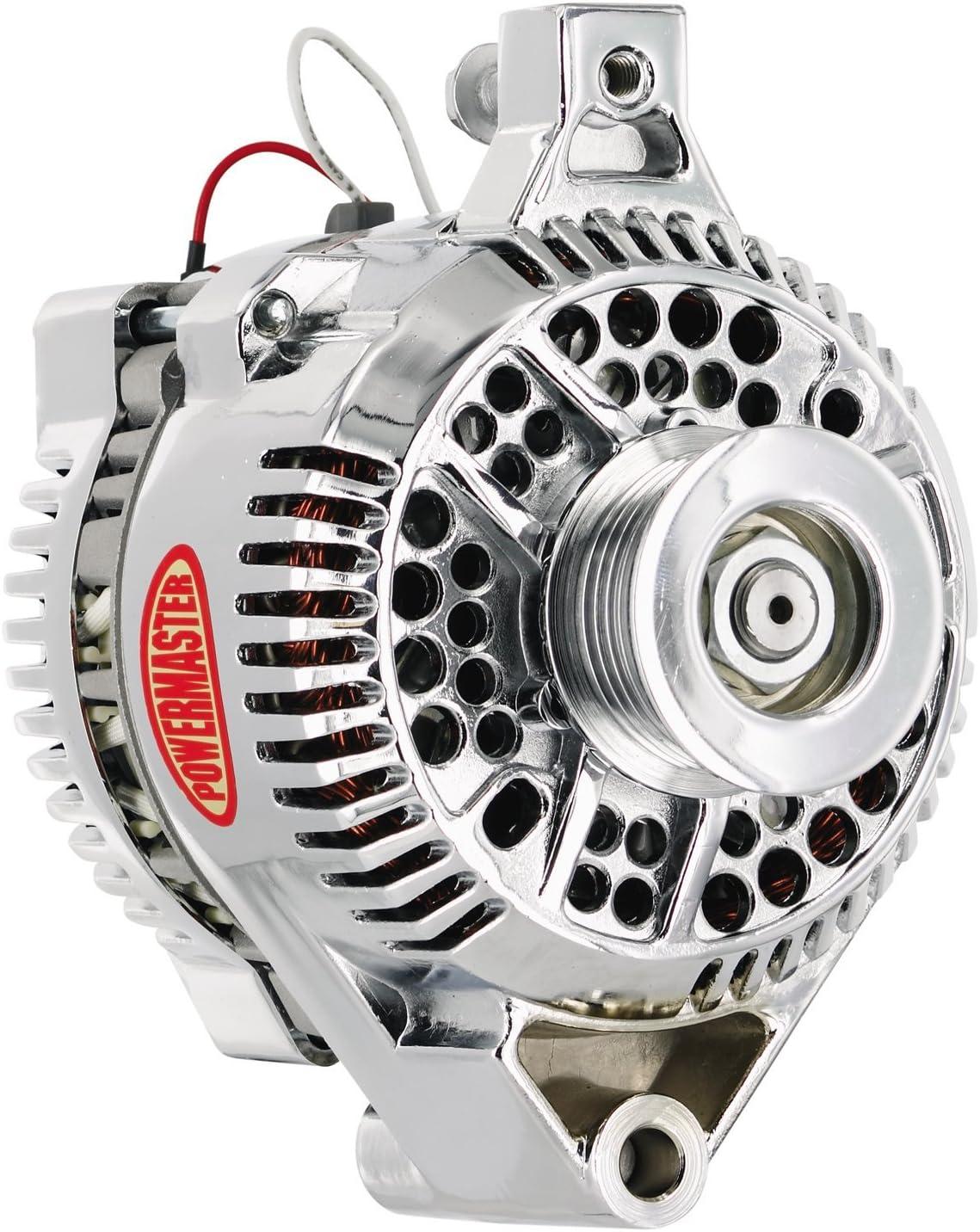 [SCHEMATICS_48ZD]  Amazon.com: Powermaster 177491 Chrome Ford 3G One Wire Alternator 100A:  Automotive | Ford Powermaster Alternators Wiring |  | Amazon.com