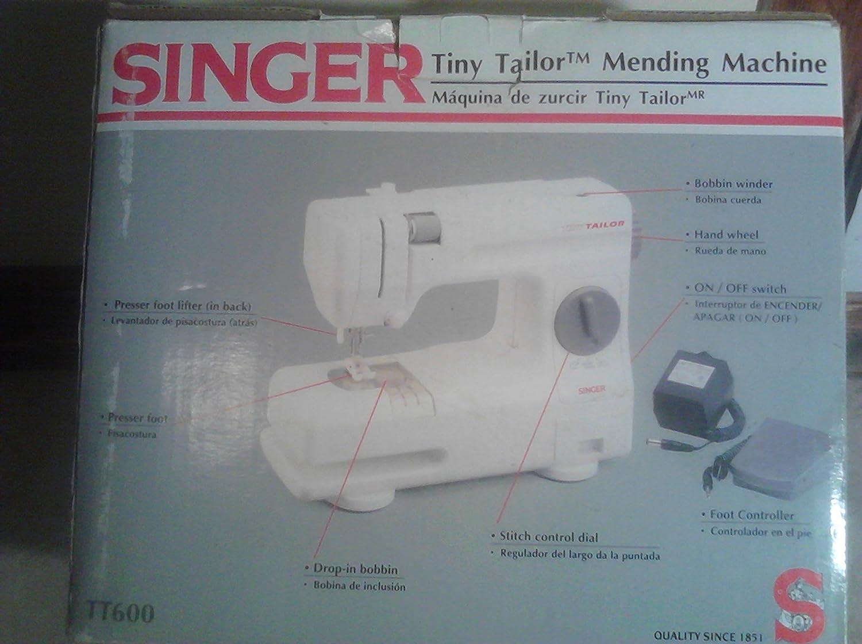 Singer Tiny Tailor Mending Máquina de coser: Amazon.es: Hogar