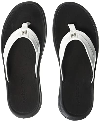 1776cdf0a2b New Balance Women s JoJo Thong Flip-Flop White Black 7 ...