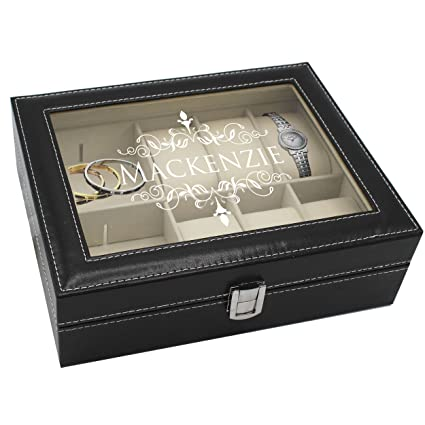 Amazoncom Personalized Jewelry Box Storage Holder Organizer