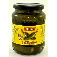 Bibo Whole Jalapeno in Jar, 680 g