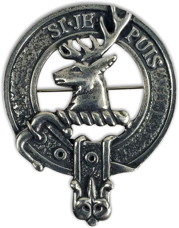 Colquhoun Clan Scottish Highlanders Plaid Brooch