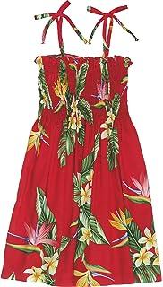 6e9a55bdf0 Amazon.com  RJC Girls Hula Girl Fun Elastic Tube Top Sundress  Clothing