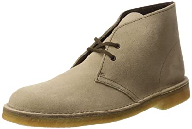 d3ed9d9b158a CLARKS Original Desert Boot Sand Mens Shoes Size 10 UK Grey
