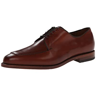 Allen Edmonds Men's Delray Moc Toe Oxford, Chili, 11 C | Oxfords