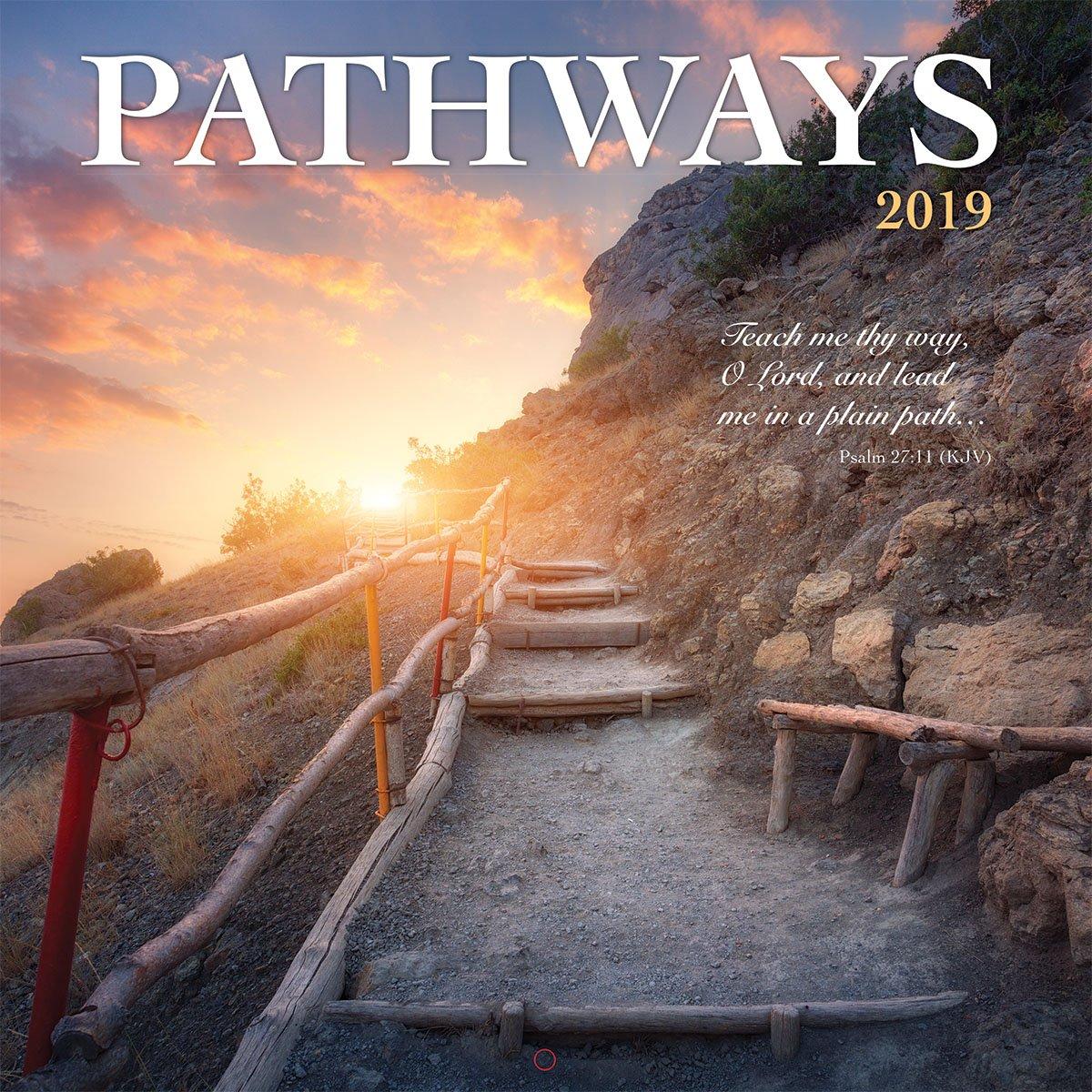 Turner Photo Pathways 2019 Wall Calendar (199989400420 Office Wall Calendar (19998940042)