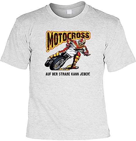 Fun T Shirt Rahmenlos Frasi Motocross La Strada Può Essere Su