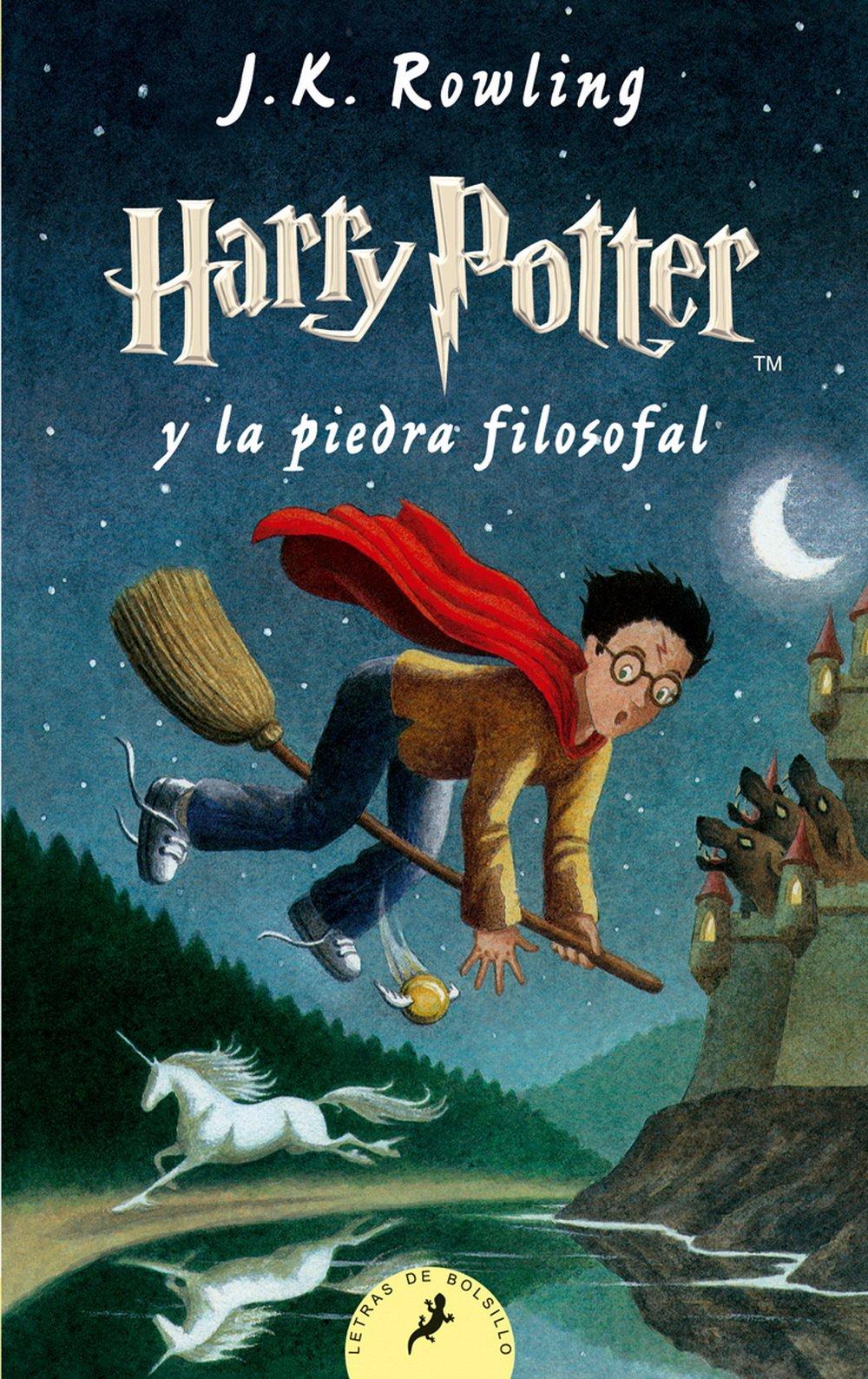 Resultado de imagen para Harry Potter y la piedra filosofal by J.K. Rowling