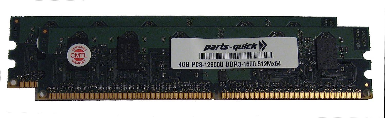 8GB (2 X 4GB) Kit DDR3 Memory for Dell Optiplex 5040 Small Form Factor PC3L-12800 Desktop DIMM RAM (Parts-QUICKBRAND)