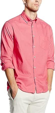 Cortefiel LISA LINO T-SOFT COLLAR - Camisa para hombre ...