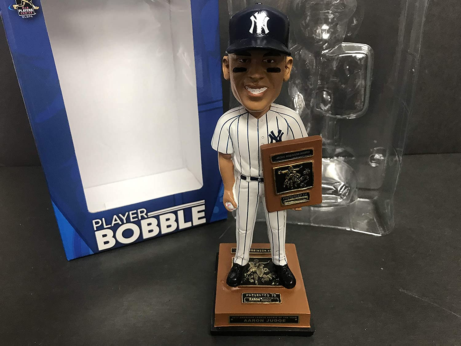 Aaron Judge 2017 New York Yankees ROOKIE of the YEAR (Jackie Robinson Award Winner) Limited Edition Bobblehead