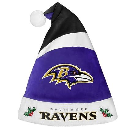 Amazon.com   Baltimore Ravens 2016 Basic Santa Hat   Sports   Outdoors 612a2b40465a