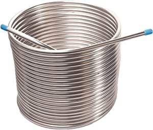 Jockey Box Coil 3/8-inch 50' Stainless Steel Tubing