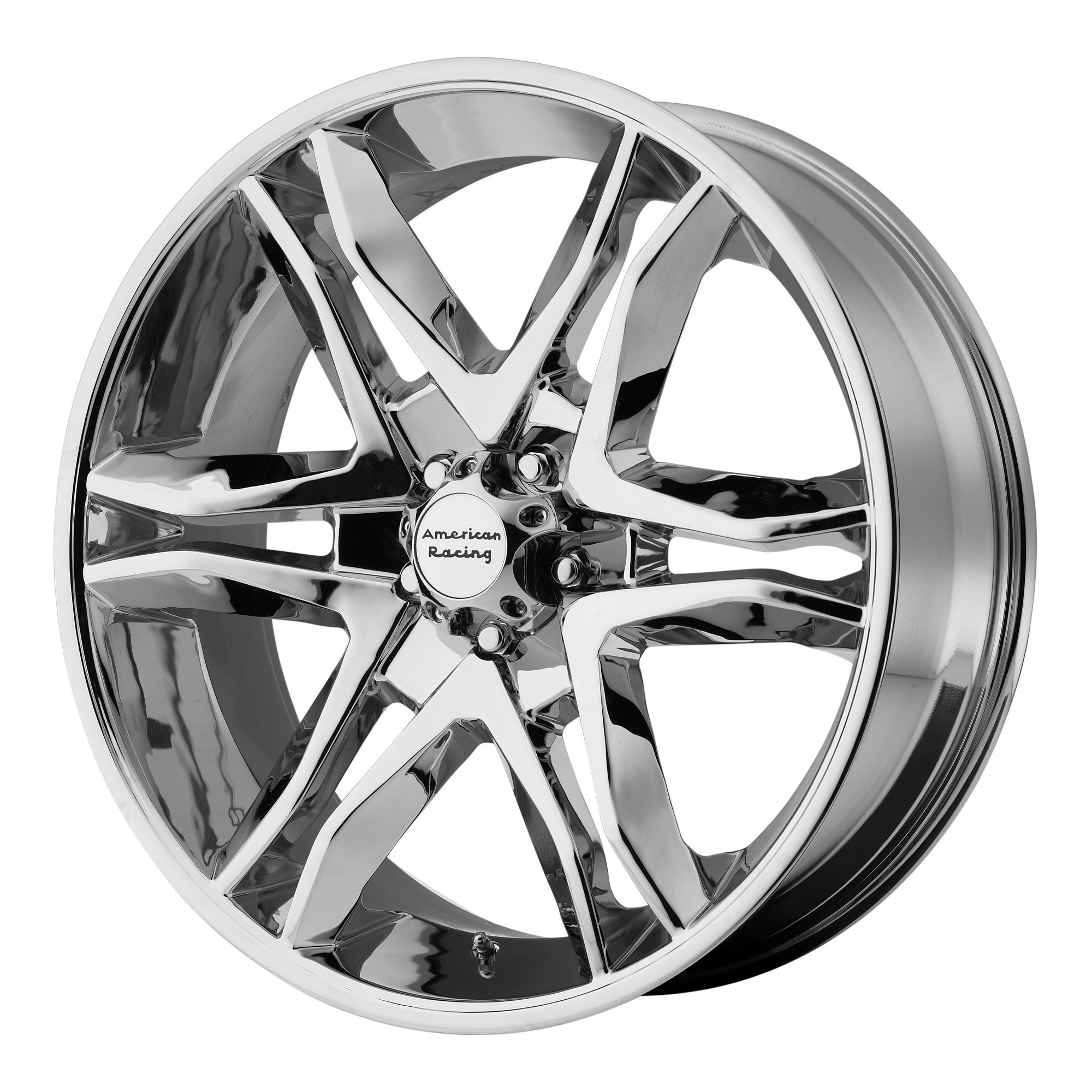 American Racing AR893 Mainline Chrome Machined Wheel (17x8''/6x139.7mm, +25mm offset)