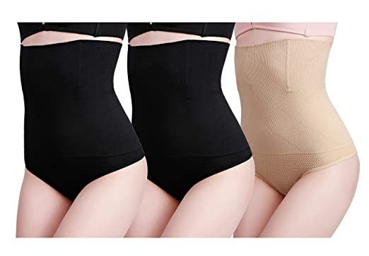 1b610fa749a cauniss Womens High Waist Shapewear Panties C Section Recovery Postpartum  Soft Stretchy Full Coverage Underwear(