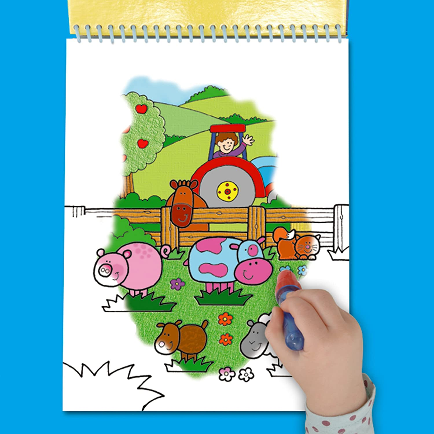 Galt Toys Water Magic Farm, Colouring Book for Children: Amazon.co ...