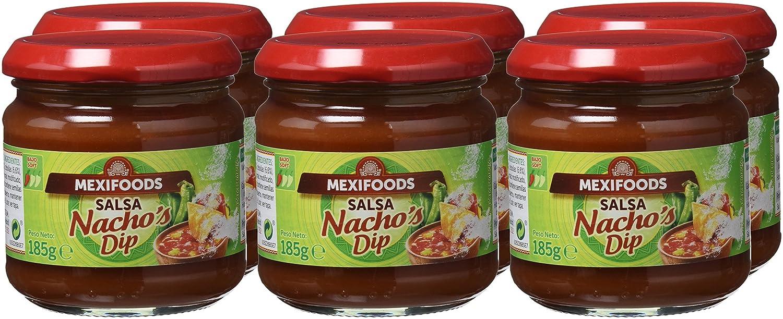 Mexifoods Salsa Mexicana - 6 Paquetes de 185 gr - Total: 1110 gr: Amazon.es: Alimentación y bebidas