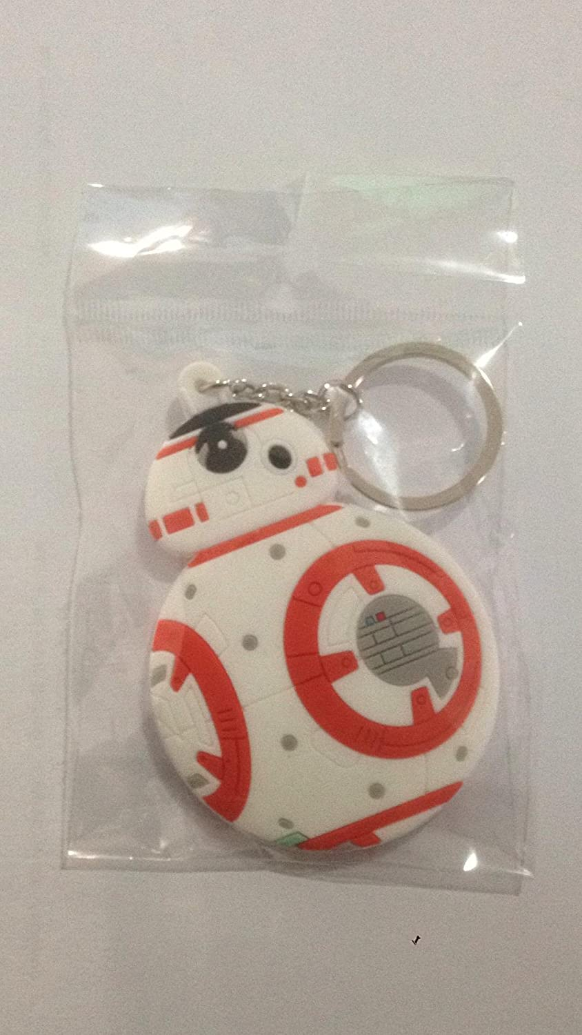WoloShop Llavero de goma BB-8 Star Wars Doble Cara Figura ...