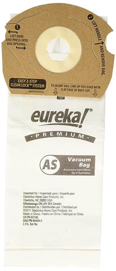 Amazon.com - Eureka As1050 Type As Micron Upright Paper Bag ...