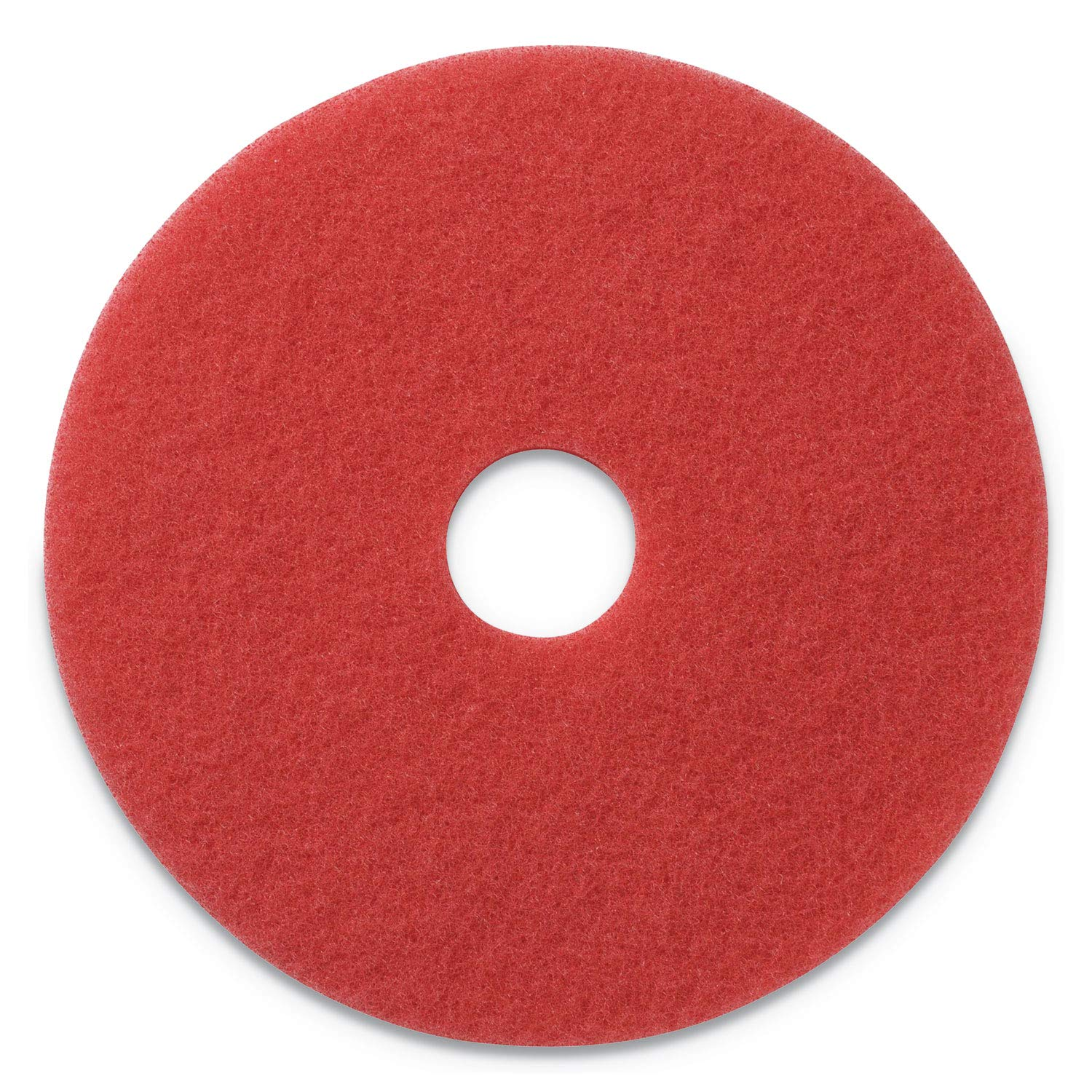 Glit/Microtron 404420 Daily Cleaning and Buffing Pad, 20'', Red (Pack of 5)