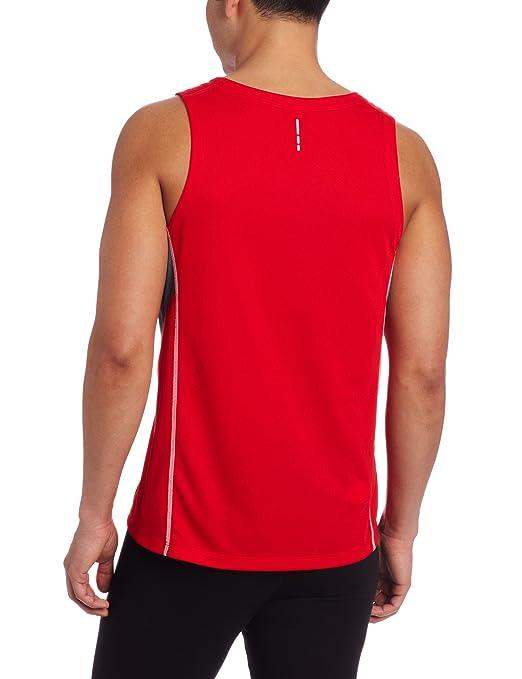 Camiseta Regata Salomon Masculina Trail Vermelha cinza G  Amazon.com.br   Esportes e Aventura 4f272177899