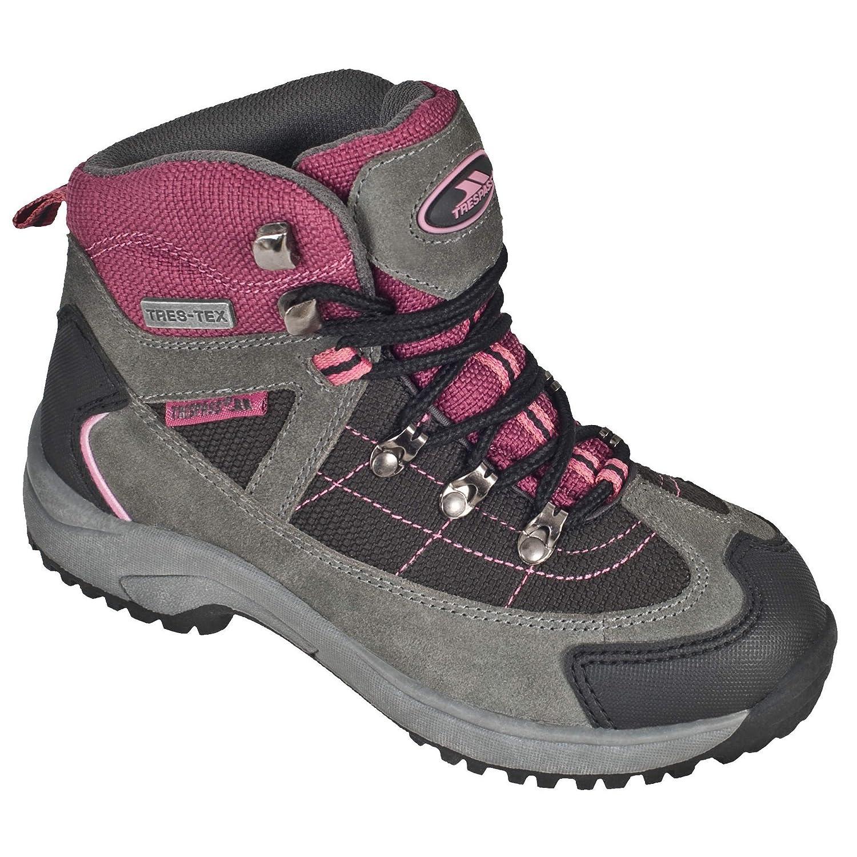 Trespass- Botas de montaña Modelo Laurel con Cordones para niñas