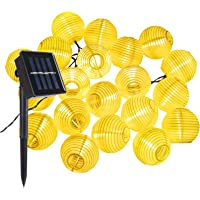 Farolillos Solares Exterior de Luces de Cuerda ALED LIGHT 6m 30 LED Blanco Cálido…
