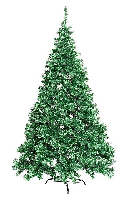 Tronco Di Natale Youtube.Albero Di Natale Colorado 210cm Albero Verde Artificiale In Pvc Numero Rami 1100 Diametro Massimo 128 Cm