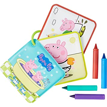Amazon.com: Peppa Pig Bath Coloring Set: Sports & Outdoors