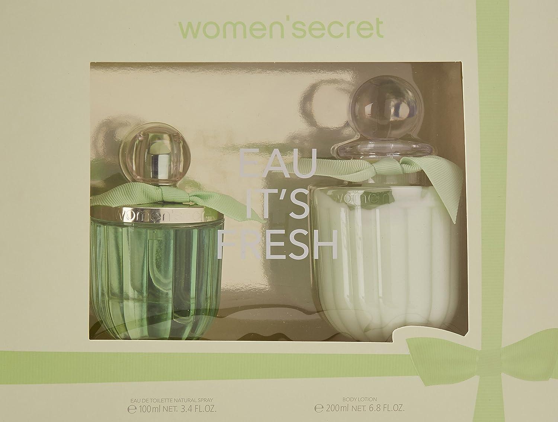 WOMEN SECRET pack it´s fresh colonia 100 ml + loción 200 ml: Amazon.es: Hogar