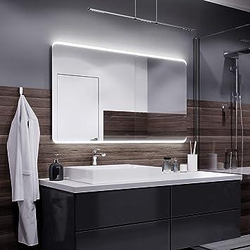 Alasta Miroir Assen Éclairage Salle de Bain Miroir Lumineux | Miroir ...