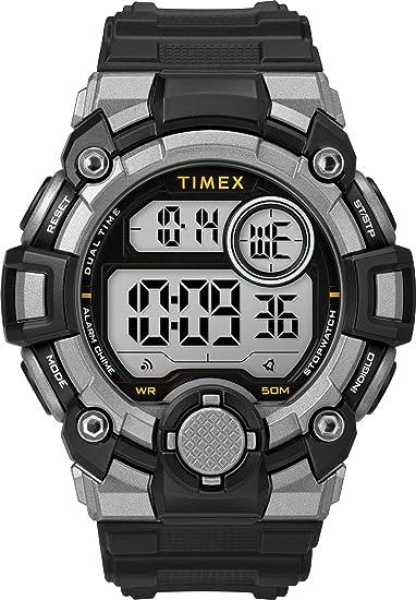 Timex Reloj Hombre de Digital con Correa en Resina TW5M27700: Amazon.es: Relojes
