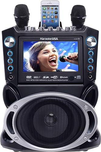 Karaoke USA GF840 DVD/CDG/MP3G Karaoke Machine