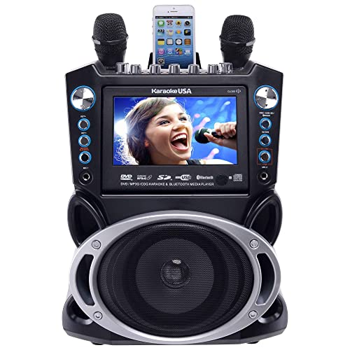 Karaoke USA GF840 DVD/CDG/MP3G Karaoke Machine