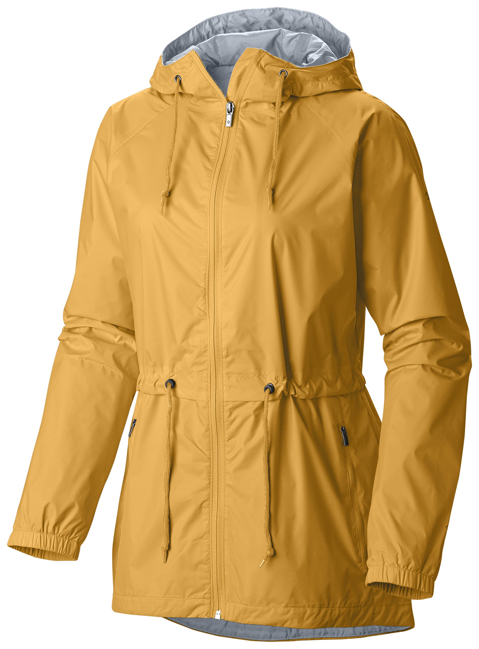 Columbia Women's Plus Size Arcadia Casual Jacket, Yellow Ray, 3X