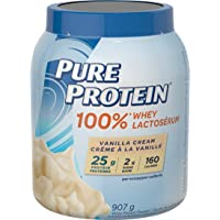 Pure Protein Powder, Whey, Great for Shakes, Vanilla Cream, 2 lbs