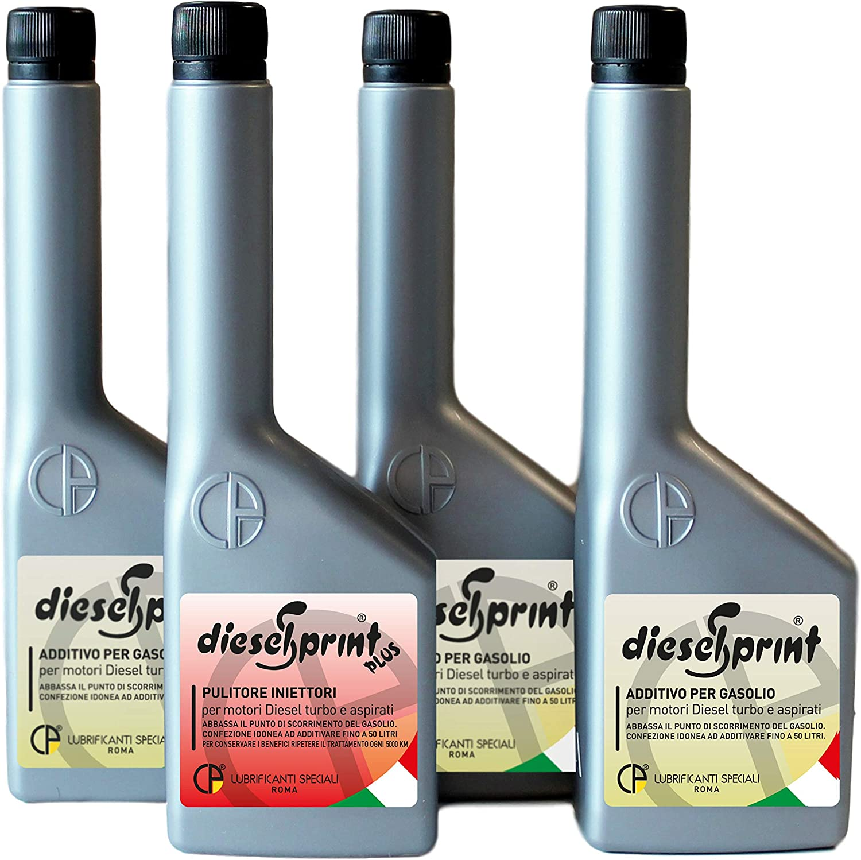 Dieselsprint Plus 500 Ml Regenerating Diesel Engine Treatment Kit Additive For Preparing Your Car For Its Mot Test 1 X 125 Ml Bottle 3 X 375 Ml Bottles Of Dieselsprint Auto