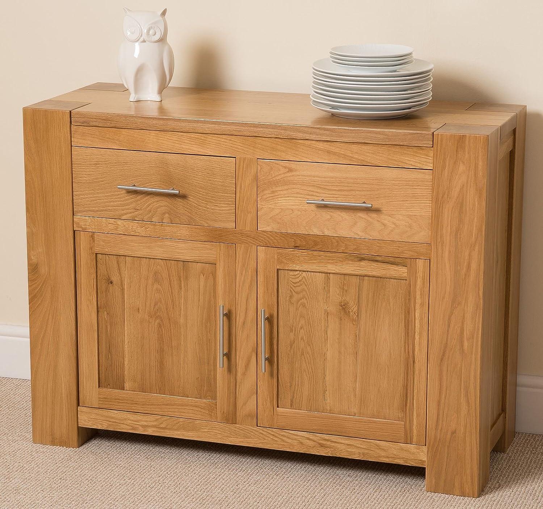 KUBA Solid Oak Small Side Board / Cabinet , 110 X 42 X 82 Cm: Amazon.co.uk:  Kitchen U0026 Home